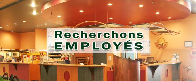 Recherchons Employes Une
