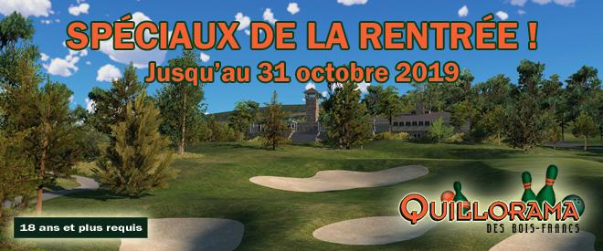 Golf In Quillorama des Bois-Francs