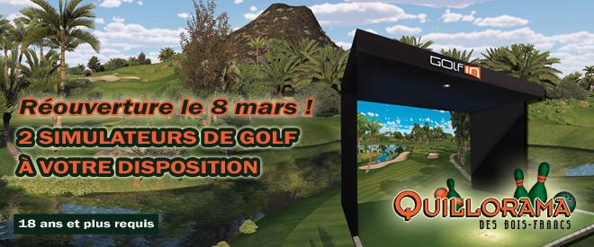 Reouverture Golf Une
